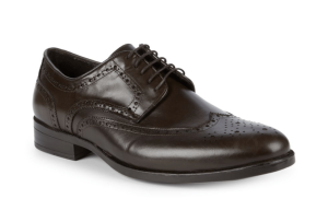 Saks Fifth Avenue Classic Leather Bluchers